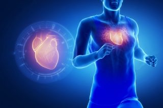 Dr Yiannis Panayiotides - athlete running man with healthy heart