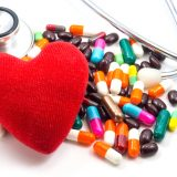 Heart Disease and pills drugs Image